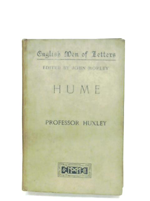 Hume By Professor Huxley