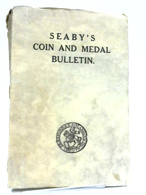 Seaby's Coin and Medal Bulletin 1963 By Peter Seaby