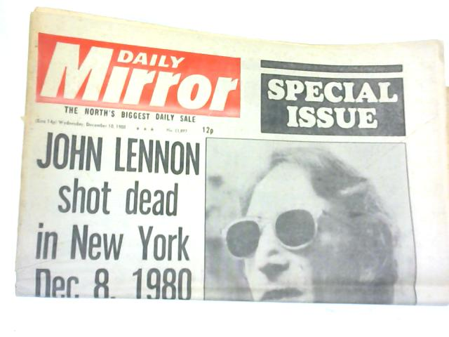Daily Mirror. Wednesday December 10, 1980 by Various