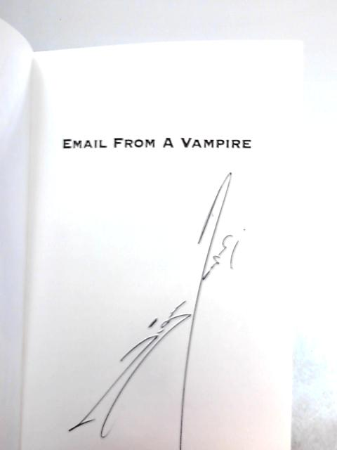 Email from a Vampire by Nigel Cooper