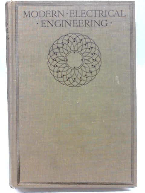 Modern Electrical Engineering Volume III By Magnus Maclean