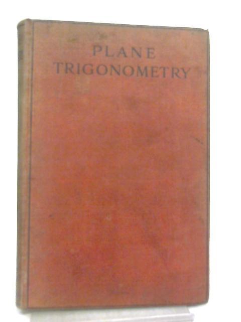 Plane Trigonometry By H. Leslie Reed