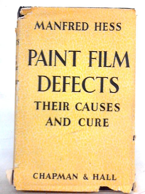 Paint Film Defects By Manfred Hess