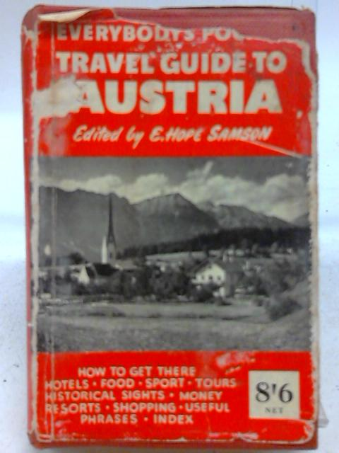 Everybody's Pocket Travel Guide to Austria By Evelyn H Samson