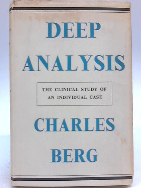 Deep Analysis by Charles Berg