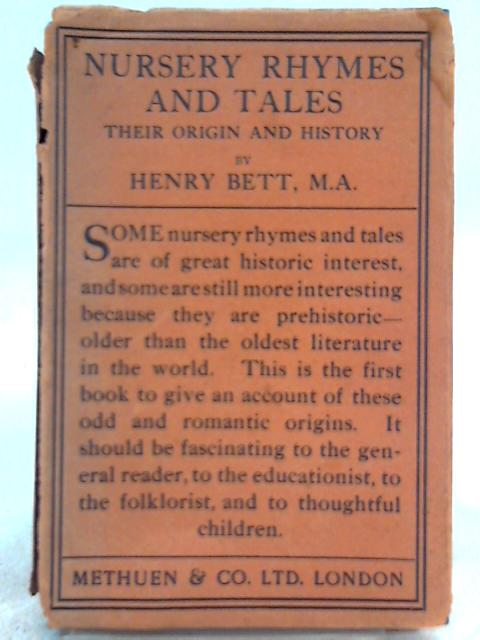 Nursery rhymes and tales by Henry Bett
