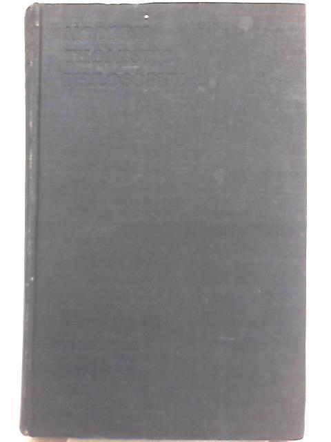 Modern Thomistic Philosophy, Vol II Metaphysics by R. P. Phillips