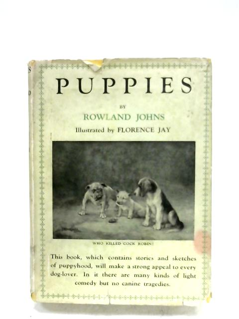 Puppies By Rowland Johns