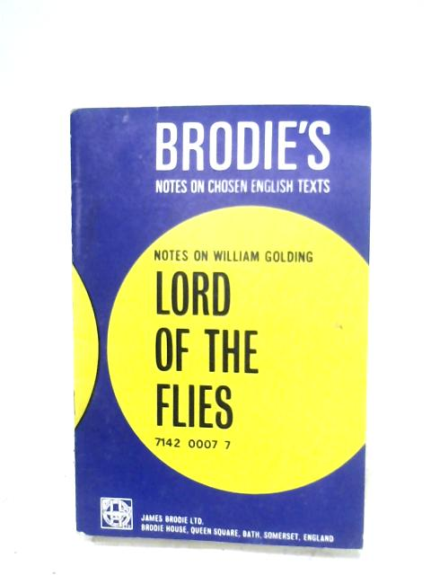 Lord Of The Flies by N. T. Carrington (Ed.)