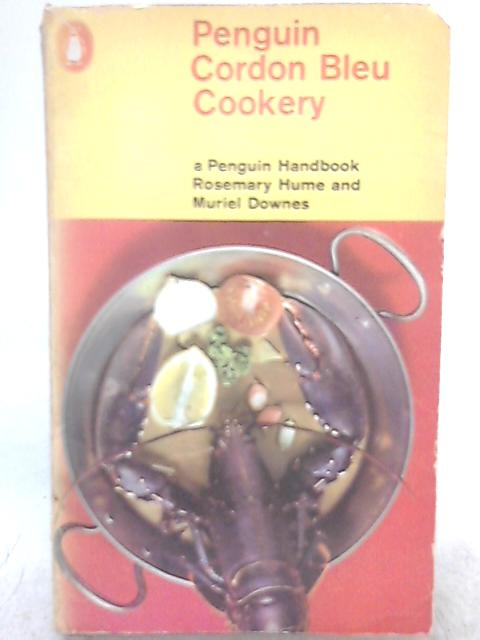 Penguin Cordon Bleu Cookery By Rosemary Hume, Muriel Downes