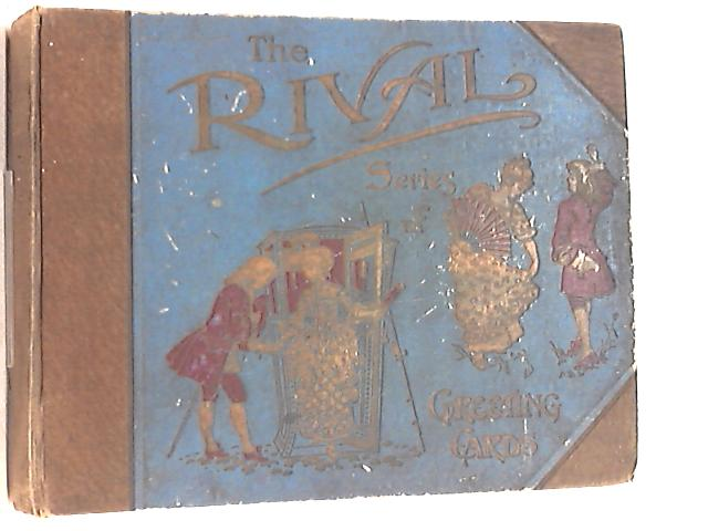 Vintage Christmas Card and Ephemera Scrap Book - The Rivals Series of Greetings Cards By Rival Series
