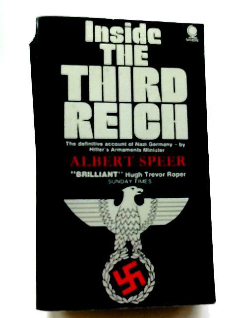 Inside The Third Reich By Albert Speer