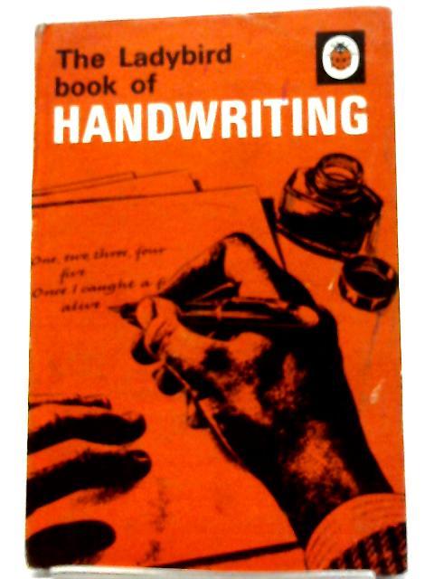 A Ladybird Book of Handwriting (Series 684) By Tom Gourdie