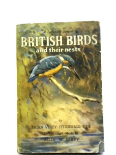 British Birds By Brian Vesey-Fitzgerald