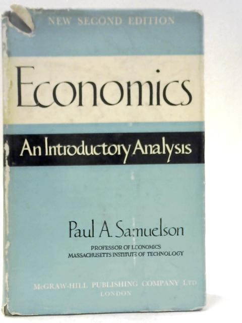 Economics By Paul A. Samuelson
