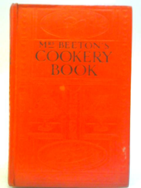 Cookery Book By Mrs Isabella Beeton