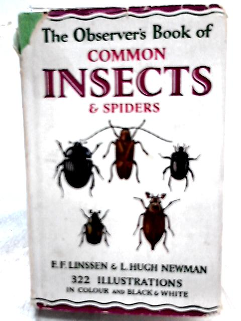 The Observer's Book of Common Insects and Spiders by E. F. Linssen