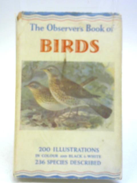 Observer's Book of Birds By S Vere Benson