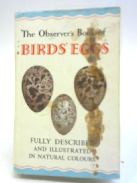 The Observer's Book of Birds Eggs By G Evans