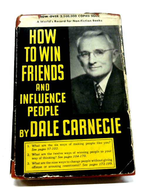 How To Win Friends & Influence People By Carnegie