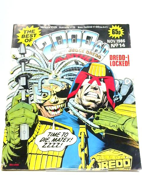 The Best Of 2000AD Monthly Featuring Judge Dredd: No. 14 Nov. 1986 By Anon
