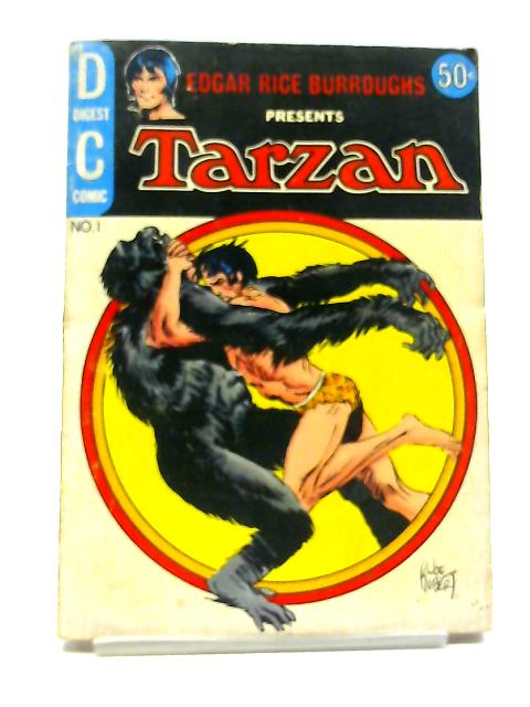 Tarzan Digest Vol 1, No 1 1972 By Edgar Rice Burroughs