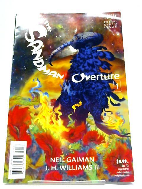 The Sandman Overture Number 1 By Neil Gaiman