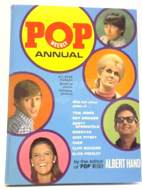 Pop Weekly Annual 1968 By Albert Hand