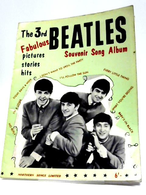 The 3rd Beatles Fabulous Souvenir Song Album: Pictures, Stories, Hits By The Beatles