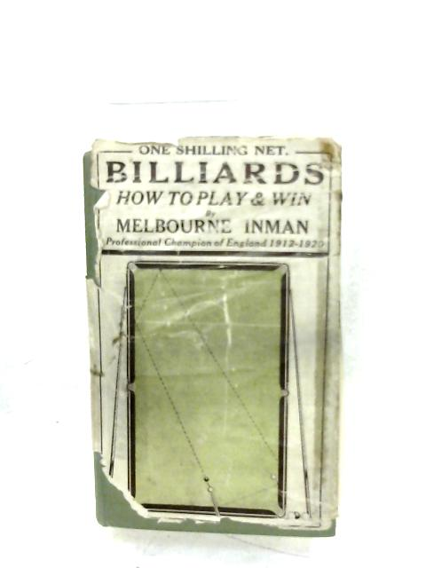Billiards By Melbourne Inman