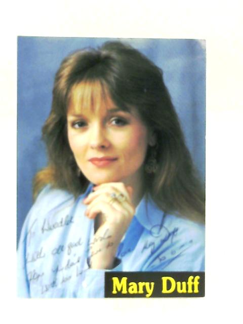 Signed Mary Duff Postcard By Anon