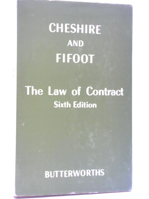 The Law of Contract By Cheshire & Fifoot