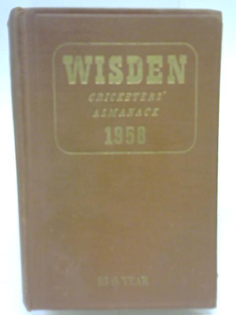 Wisden Cricketer's Almanack 1958 By Norman Preston