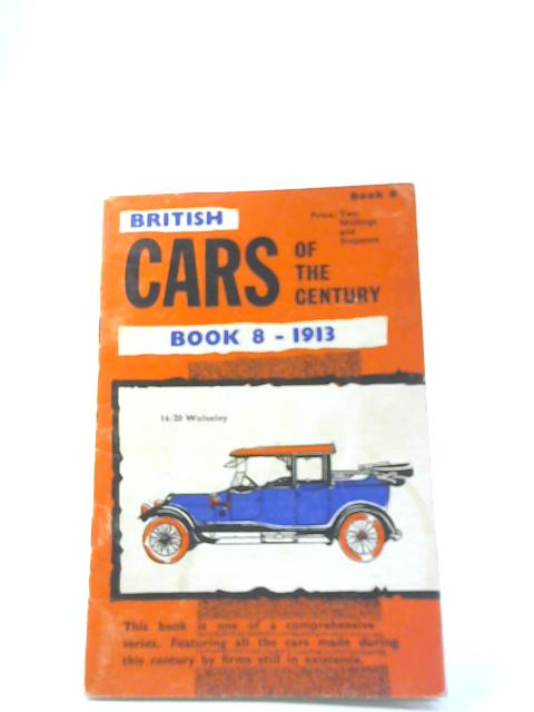 Cars of the Century. Book 8 By Anon
