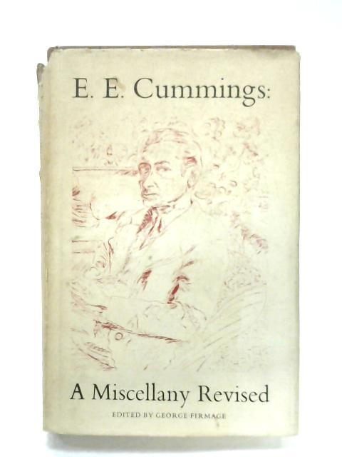 A Miscellany Revised By E. E. Cummings