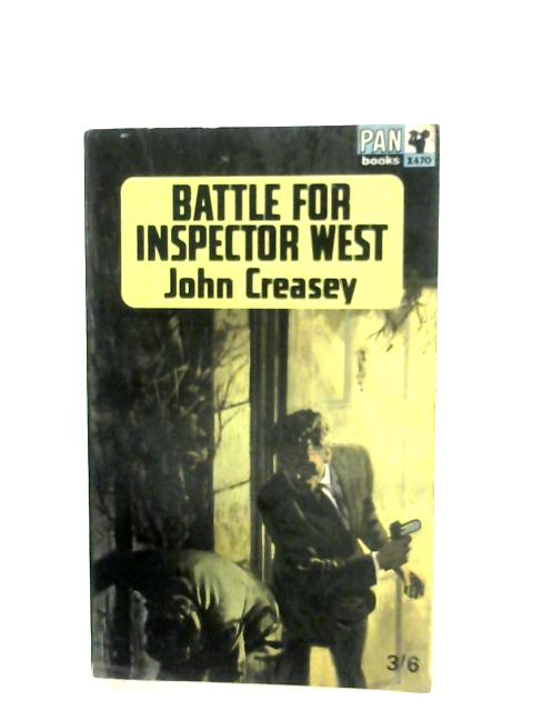 Battle For Inspector West By John Creasey