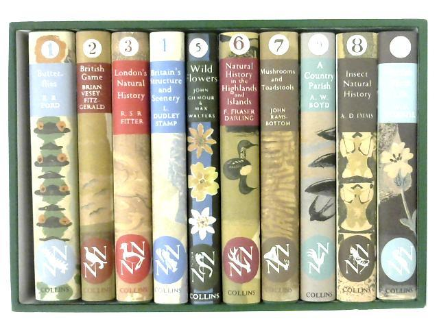 The New Naturalists Facsimiles Box Set Nos 1-10; Including, Butterflies, British Game, London's Natural History, etc By Various