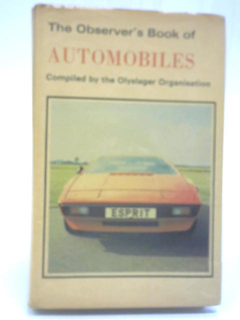 Observer's Book of Automobiles By D Voller and C Alexander