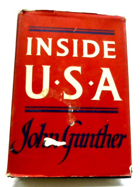 Inside USA By John Gunther