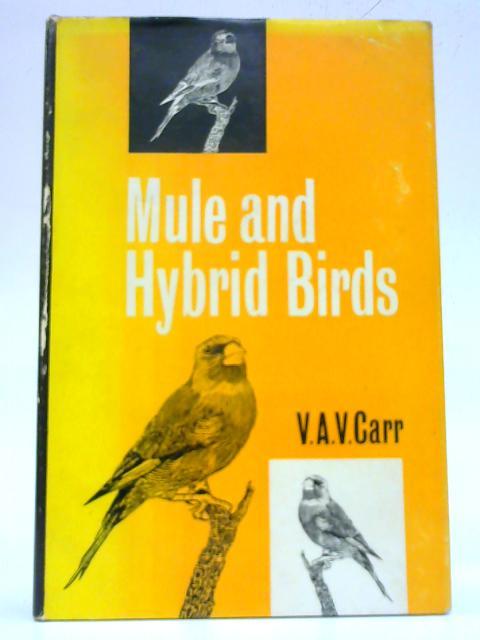 Mule and hybrid birds By V. A. V. Carr