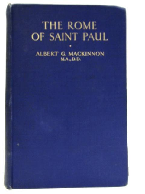 The Rome of Saint Paul By A.G. Mackinnon
