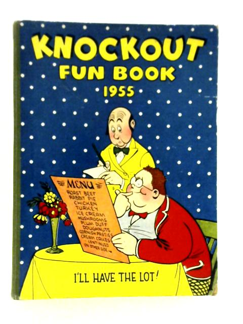 Knockout Fun Book 1955 By Amalgameted Press