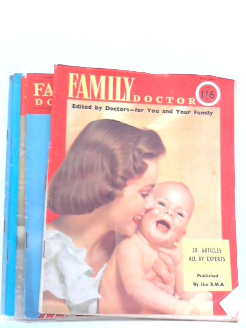 Family Doctor February, April, July, Nov. & Dec. Issues, 1954 (Set of 5 issues) By Various