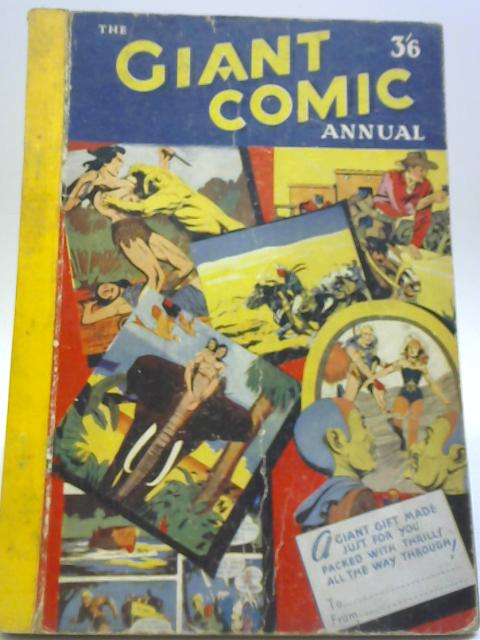 The Giant Comic Annual By Various