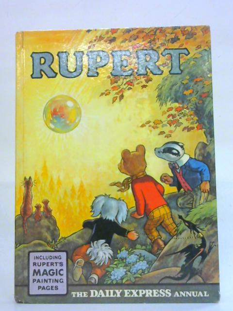 Rupert The Daily Express Annual 1968 By Unknown