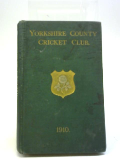 Yorkshire County Cricket Club By F C Toone