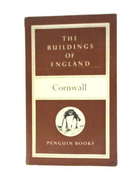 Cornwall By Nikolaus Pevsner