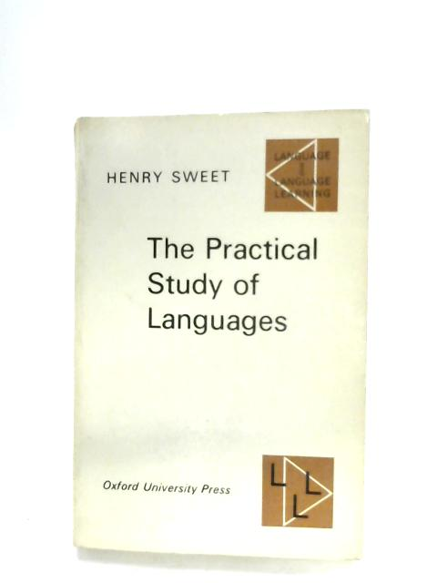 Practical Study Of Languages By Henry Sweet