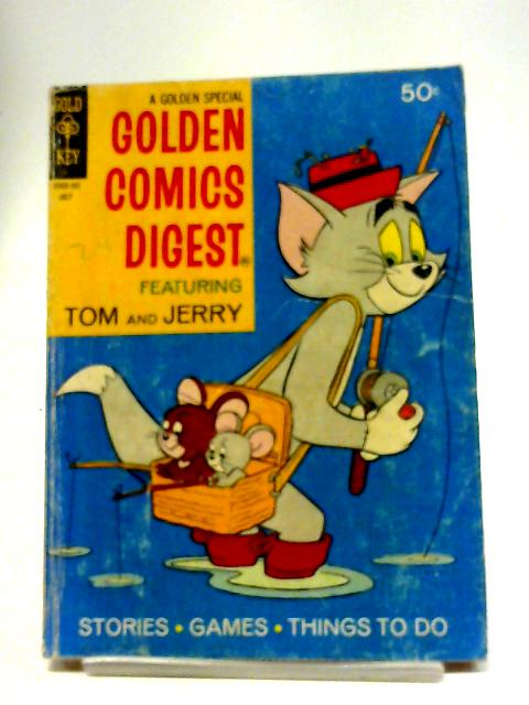 Golden Comics Digest #18 Featuring Tom and Jerry - July 1971 By Various