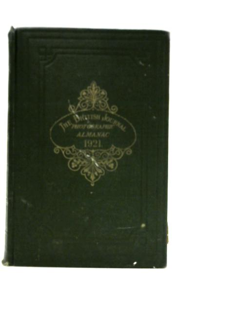 The British Journal Photographic Almanac 1921 By George E Brown